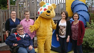 Image for Young people from three Scottish projects make a film for BBC Children in Need