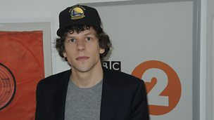 Image for Jesse Eisenberg chats to Steve and the team.