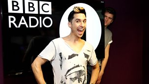 Image for Russell Kane pops in to see Greg