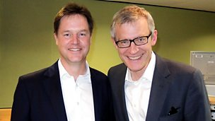 Image for Nick Clegg speaks live with Jeremy Vine