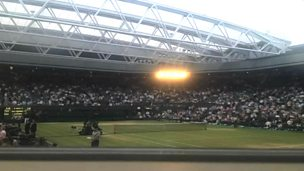 Image for Time-lapse of Wimbledon Centre Court roof closing