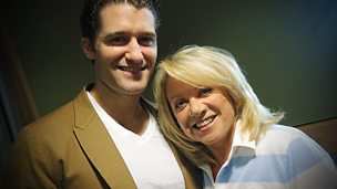 Image for Matthew Morrison of Glee joins Elaine Paige in the studio
