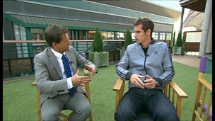Image for Andy Murray talks to Breakfast about beating Djokovic to win Wimbledon