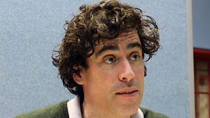 Image for Writer Marcy Kahan and Stephen Mangan on working together.