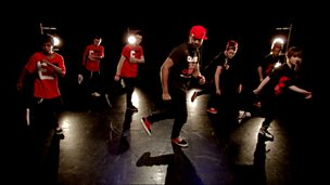 Street dance masterclass on B-boying and footwork
