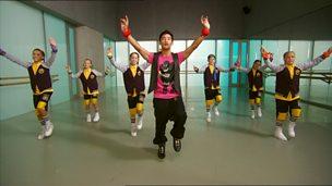 Street dance masterclass on Bhangra and Street fusion