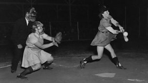 Image for Women's Baseball in WWII