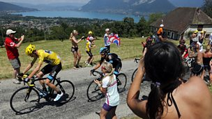 Image for Tour de France: Closing moments of Stage 20