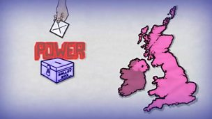 How does the political system work in the UK?