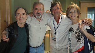 Image for Maureen Lipman, Harry Shearer and John Bowe chat to Richard Madeley