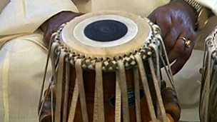 Tuning the tabla