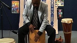 The cajon - origin and playing techniques