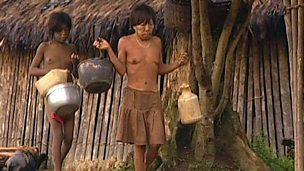 Indigenous people in the Amazon rainforest