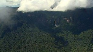 Biosphere reserves in the Amazon rainforests