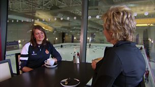 Image for Sally Magnusson talks to curling coach Lynne Mackenzie