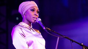 Image for Laura Mvula chats to Mark Radcliffe