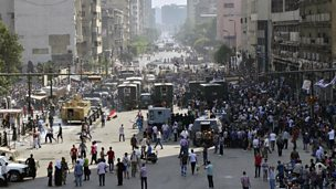 Image for Journalist says Egypt mobs encouraged to attack media