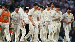 Image for The Ashes: 5th Test ends for bad light