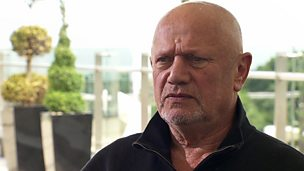 Image for Father's rejection still affects actor Steven Berkoff