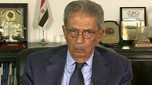 Image for Amr Moussa: The revolution in Egypt has not failed