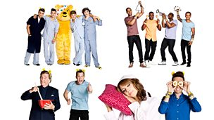 Image for Fundraising ideas from JLS, Union J, Nick Grimshaw, Sir Terry, Alex Jones and Matt Baker