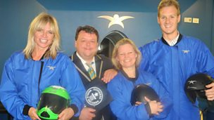 Image for Zoe Ball's World Record Attempt - The High Five Sky Dive