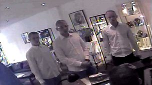 Image for Porthcawl Jewellery Robbery CCTV