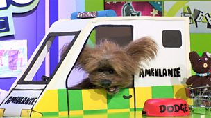 Dodge in his ambulance