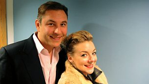 Image for David Walliams and Sheridan Smith chat to Claudia Winkleman