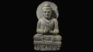 Image for Seated Buddha from Gandhara