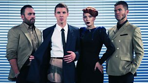 Image for Scissor Sisters and writer Neil Gaiman