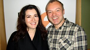 Image for Nigella Lawson cooks up an aural treat with Graham