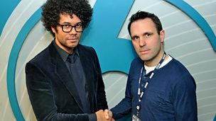 Image for Richard Ayoade joins Shaun.