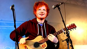 Image for Live From Reading With Ed Sheeran Performance