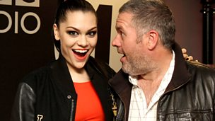 Image for Tuesday - with Jessie J & Tulisa on the phone