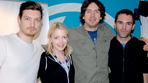 Image for Snow Patrol live in session.