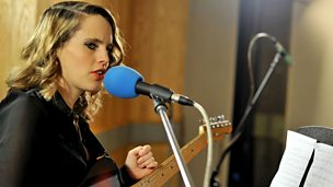 Image for Thursday: Brits Live Lounge - Anna Calvi & Christina Ricci