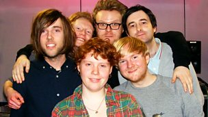 Image for New Futureheads a cappella, This Many Boyfriends session