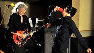Image for Monday: Dappy & Brian May Live Lounge