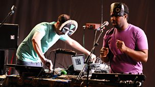 Image for SBTRKT, A Guy Called Gerald and !!!.