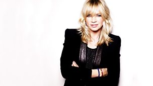 Image for Zoe Ball sits in
