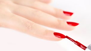 Image for 80 years of red nail varnish, Elaine C Smith, Joyce Banda, older au-pairs, and the history of women's Cricket