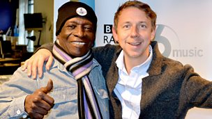 Image for With drummer Tony Allen