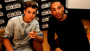 Image for Reggie meets Justin Bieber