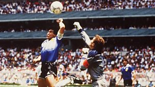 Image for Maradona's 'Hand of God'