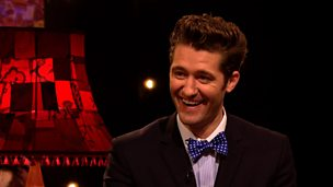 Image for Matthew Morrison on singing for the Obamas
