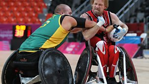 Image for Canadian Wheelchair Rugby Team