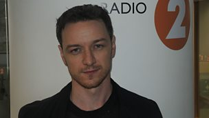 Image for James McAvoy chats to Steve Wright
