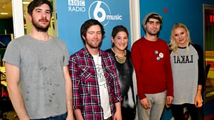 Image for Nemone sits in for Lauren Laverne with Paws live in session.
