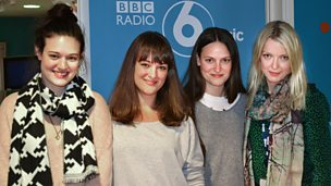 Image for The Staves are live in session